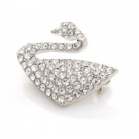 Jewel Pinch by Swarovski Elements - Swan Shape