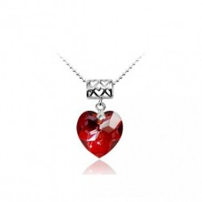 Heart shape necklace by Swarovski Elements 18mm Ν.1