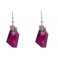Earrings made with Swarovski Elements
