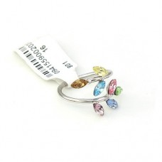 Ring made with Crystallized Swarovski Elements