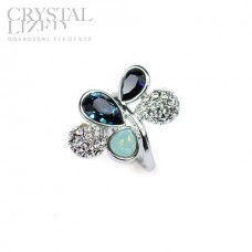 Ring made with Swarovski Elements