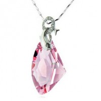 Diamond Shape Necklace made with Swarovski Elements N.3