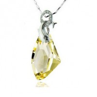 Diamond Shape Necklace made with Swarovski Elements N.4