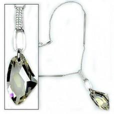 Diamond Shape Necklace made with Swarovski Elements N.5