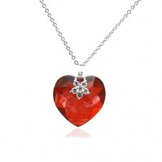 Heart shape necklace by Swarovski Elements 18mm Ν.2