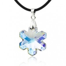 Snowflake Necklace made with Swarovski Elements